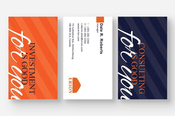 Lucas Business Cards